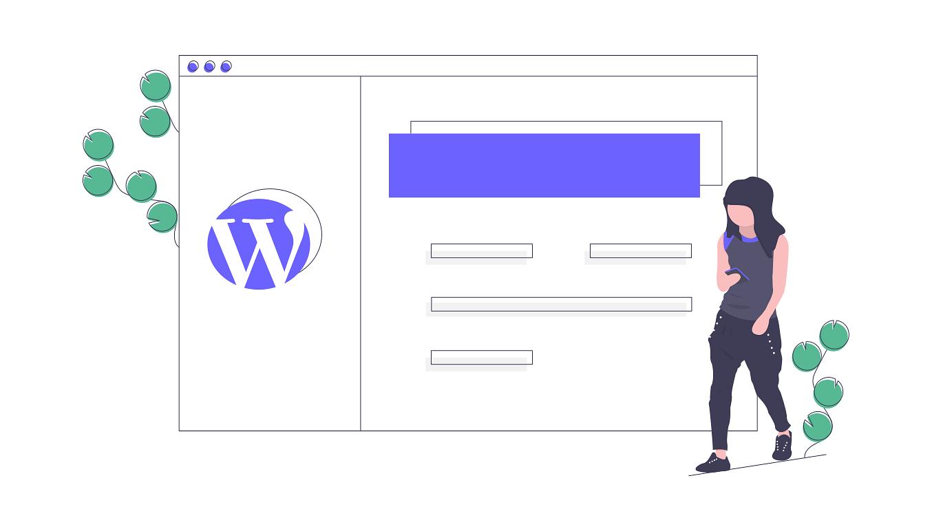 optimizar wordpress undraw