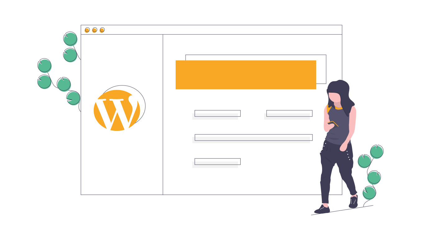 páginas webs con wordpress